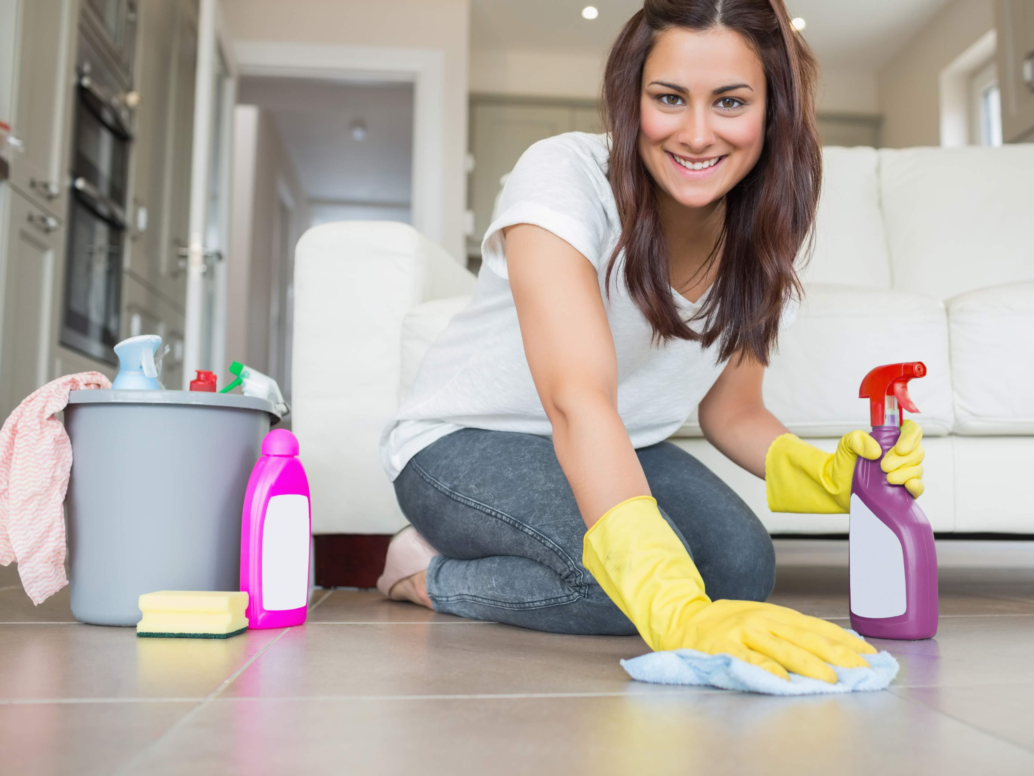 Хозяйка и уборщица 9 фотография